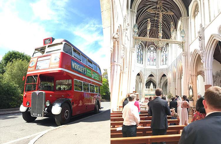 イギリスの結婚式